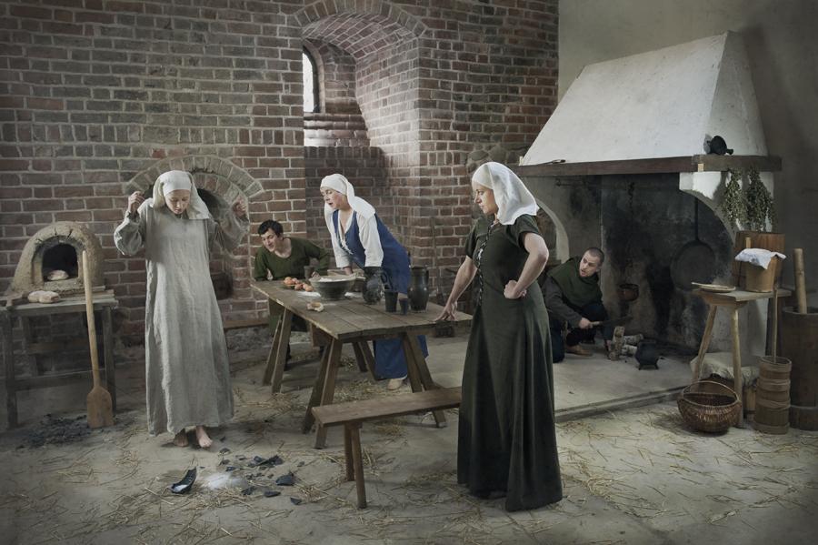 W średniowiecznej kuchni