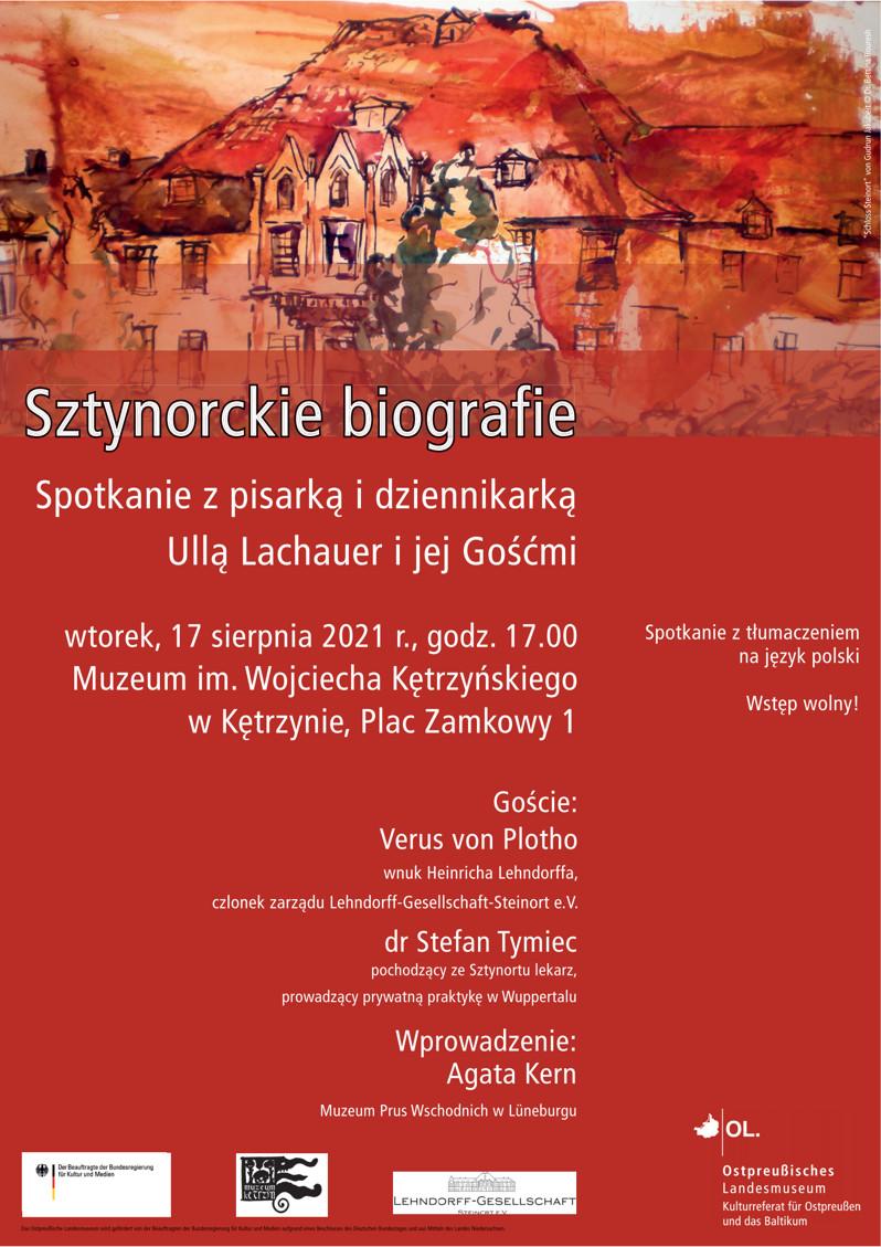 plakat Sztynorckie Biografie